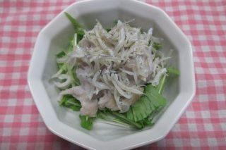 里芋の和風ホットサラダ