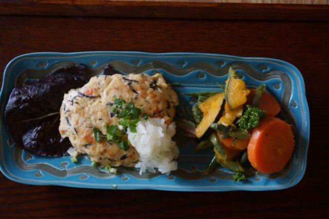 かぼちゃと緑黄色野菜のマリネ