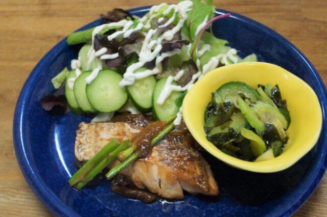 魚の生姜焼き