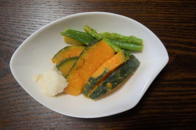 野菜のウドズオイル和え