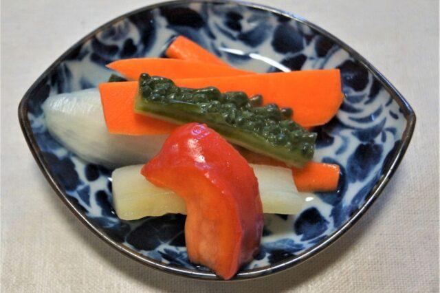 野菜の甘酢
