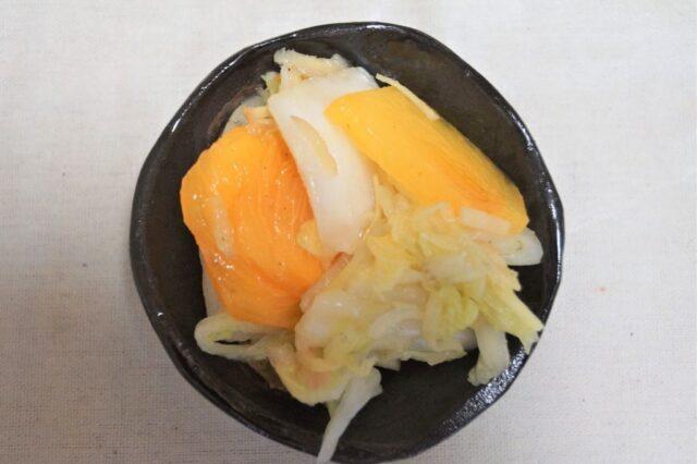 白菜の香りづけ