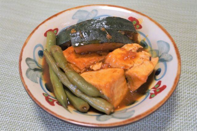野菜と豆腐の炊き出し