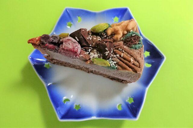 クリスマスローチョコケーキ