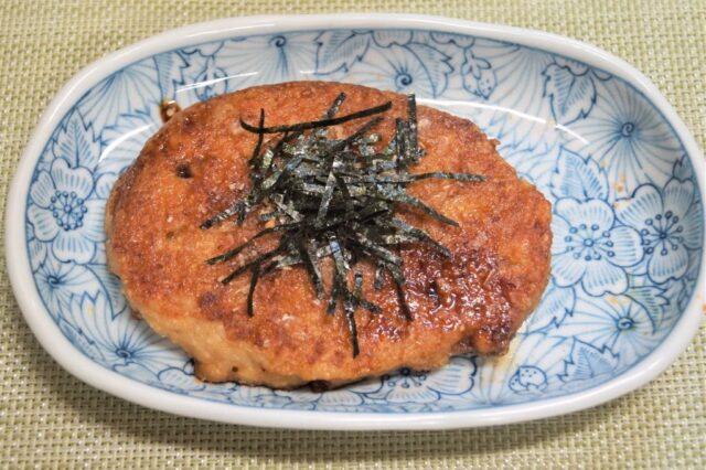 山芋と納豆のお好み焼き