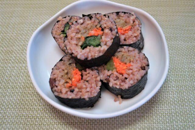 春の発酵手巻き寿司