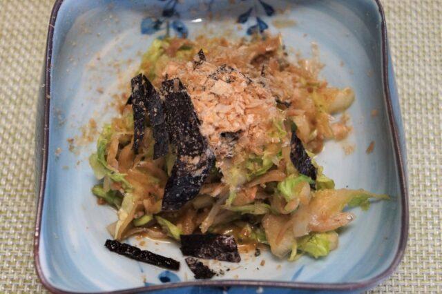 白菜とじゃこの和風サラダ