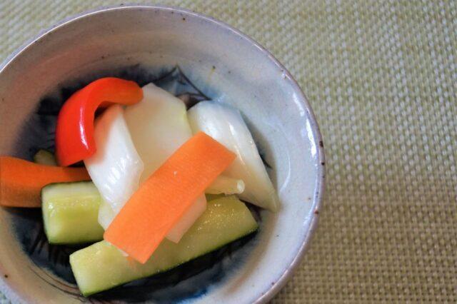 ミックス野菜の甘酢