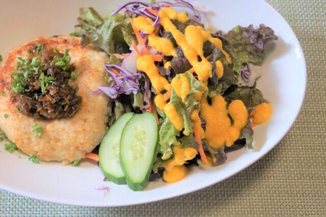 オニオン豆腐ハンバーグ