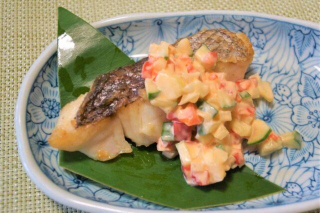 魚のタルタルソース