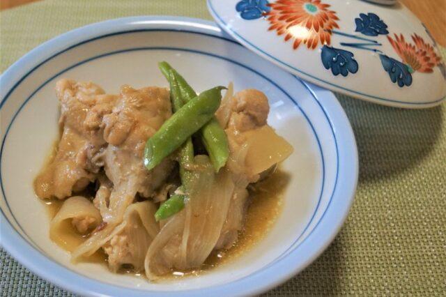 鶏手羽の玉ねぎ麹煮