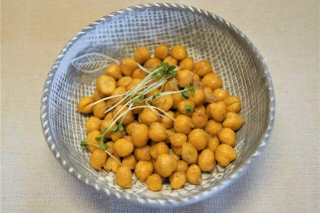 クリスピーひよこ豆