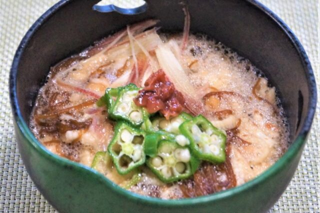 山芋冷やし素麺