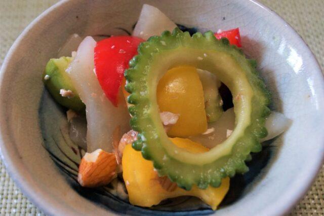 ナッツとカラフル野菜のピクルス