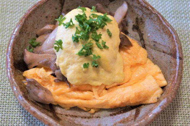 卵焼きカシューナッツソース