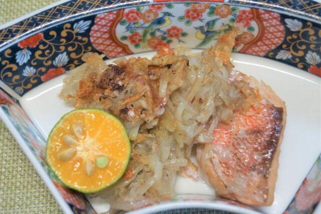 白身魚のガレット