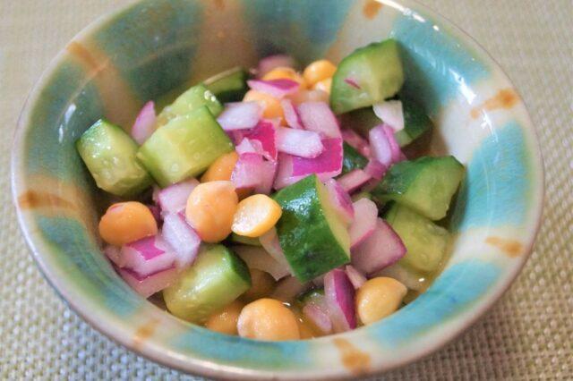 コロコロ野菜サラダ