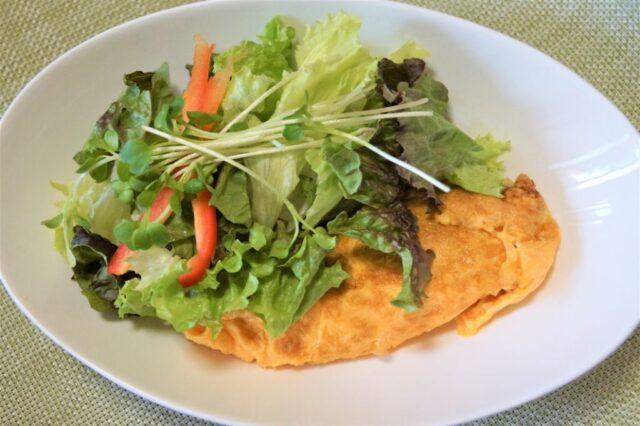 納豆味噌オムレツ