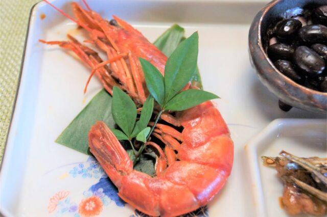 エビの甘辛煮(お正月料理)