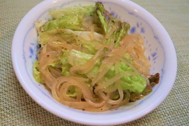 春雨野菜サラダ