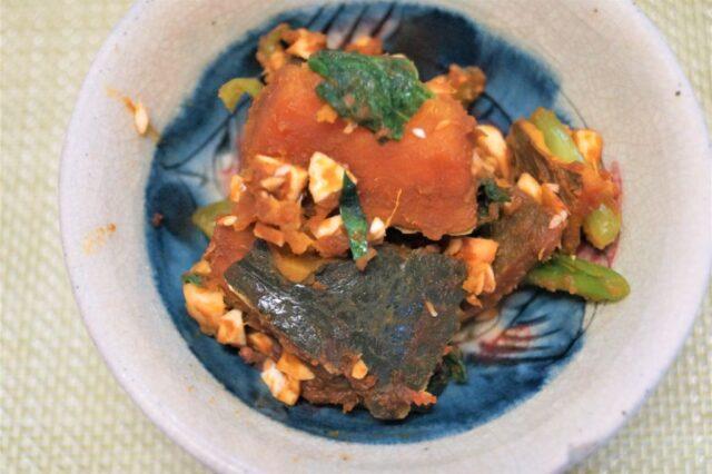 カボチャと緑黄色野菜のマリネ