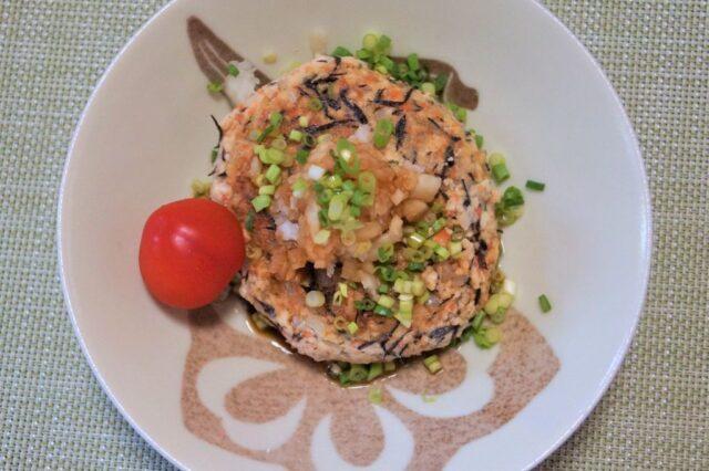 豆腐ハンバーグ.