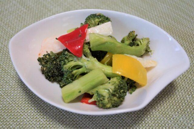 山芋とブロッコリーのシークワーサーマリネ