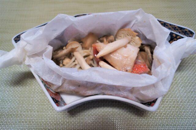 魚の包み焼き