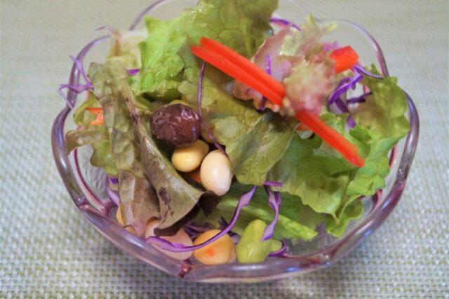 豆と彩野菜サラダ