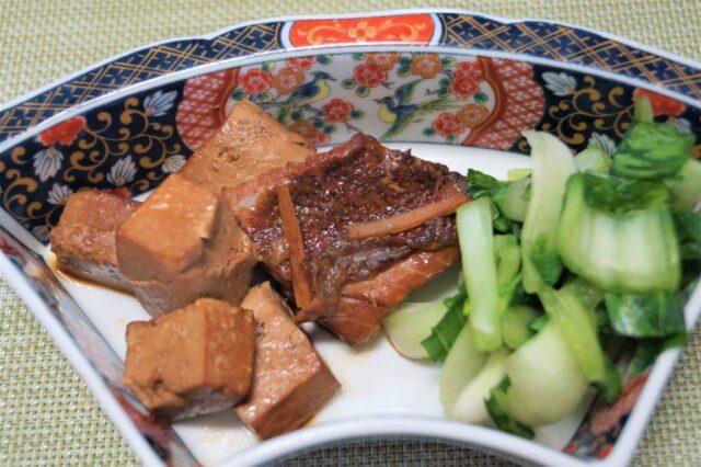 魚と豆腐の煮つけ