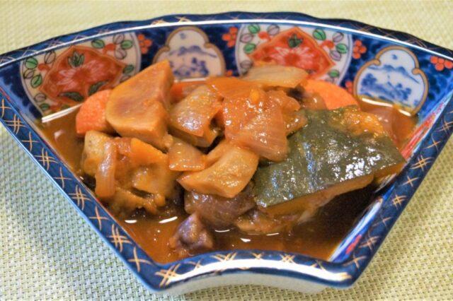 根菜の甘酢煮