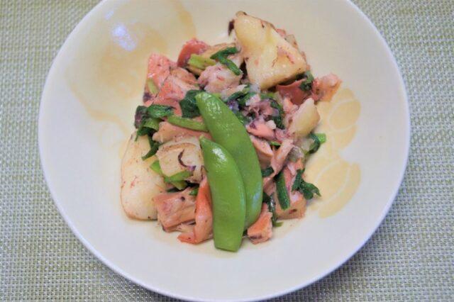 イカとジャガイモの塩麹炒め