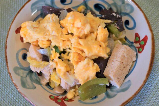 卵の中華炒め