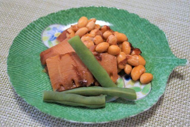 筍と大豆の土佐煮