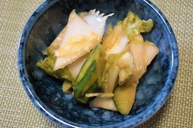 白菜の甘酢