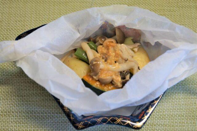 野菜の包み焼