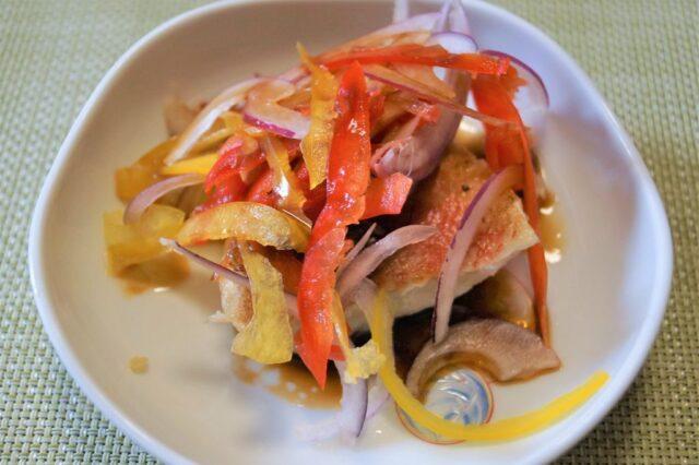 焼き魚のバルサミコ酢