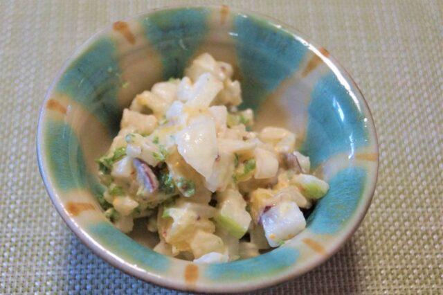 さつまいもと玉ねぎのデリ風サラダ
