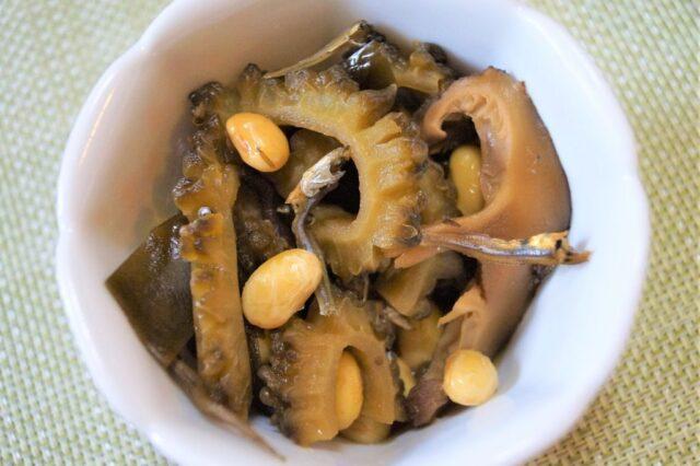 ゴーヤーと椎茸の佃煮