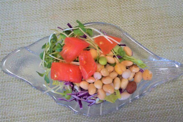 豆と野菜のサラダ