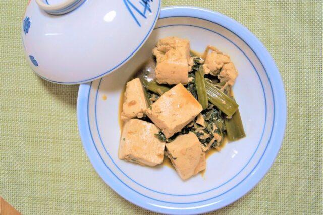 空芯菜の甘辛炒め