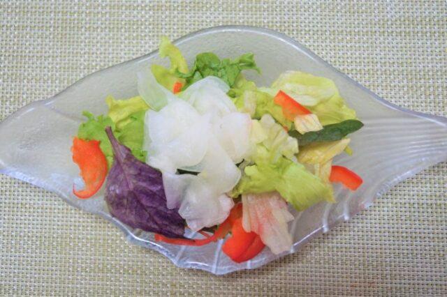 島野菜サラダ ドラゴンフルーツドレッシング