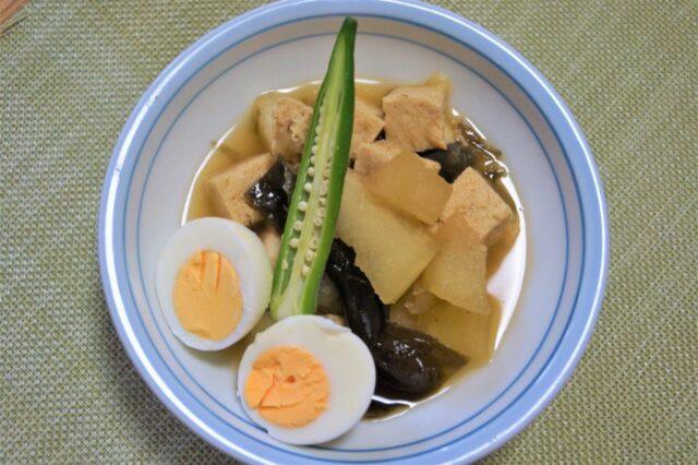 冬瓜と卵の煮物