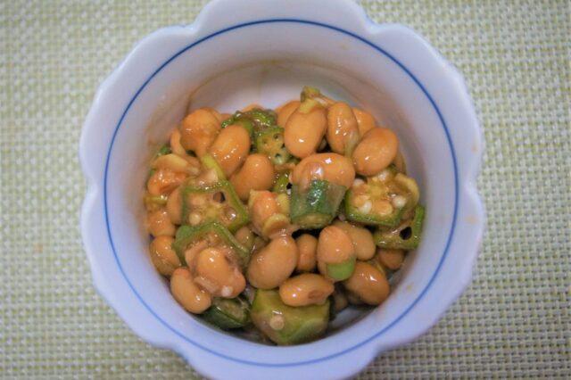 納豆薬味和え