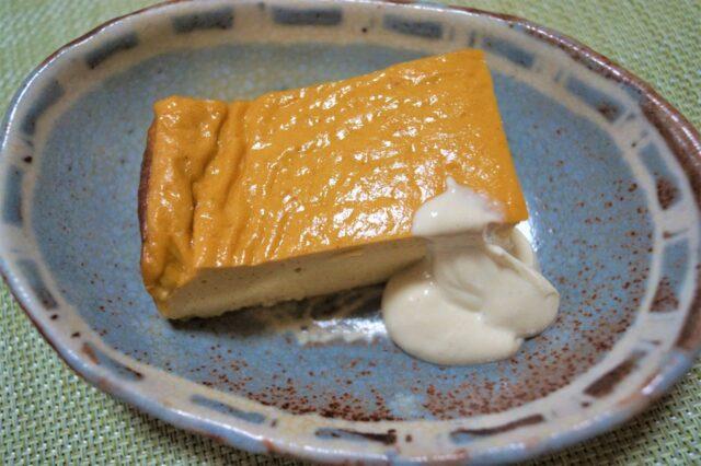 豆腐と卵のオーブン焼き